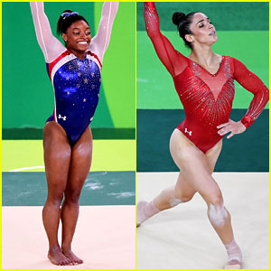 Simone Biles & Aly Raisman's Floor Exercises Need to Be Seen! (Video)