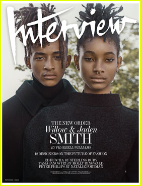 Willow & Jaden Smith Share Their First-Ever Cover for 'Interview' Magazine!