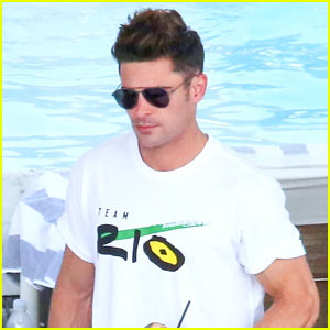 Zac Efron is Team USA's Biggest Fan at the Olympics!