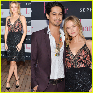 Avan Jogia Supports Zoey Deutch at Harper by Harper's Bazaar Dinner