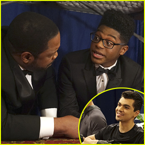 Adam Irigoyen Reunites With Zendaya For 'K.C. Undercover' Guest Appearance!