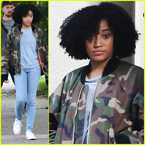 Amandla Stenberg Starts Shooting 'Everything Everything' in Vancouver