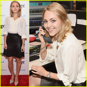 AnnaSophia Robb Continues Her Tradition of Attending 9/11 Charity Day