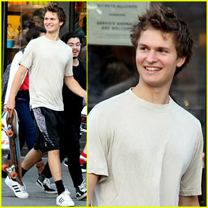 Ansel Elgort is Busy Working on Brand New Music!