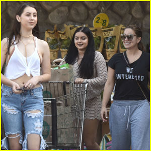 Ariel Winter Stocks Up on Labor Day Goods With Her Sister Shanelle