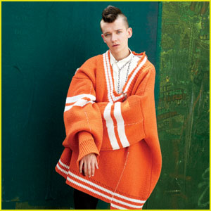 Asa Butterfield Gushes Over Tim Burton With 'Teen Vogue'