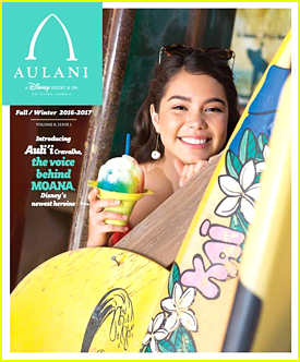 Moana's Auli'i Cravalho Debuts Her First Magazine Cover on Instagram