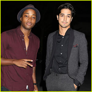 Avan Jogia Checks Out the Drake Concert With Pal Leon Thomas!