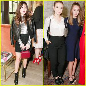 Bea Miller & Alycia Debnam-Carey Get Dolled Up for W Mag's 'It Girls' Luncheon