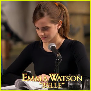 Emma Watson Reads Lines as Belle in New 'Beauty & the Beast' Sneak Peek - Watch Now!