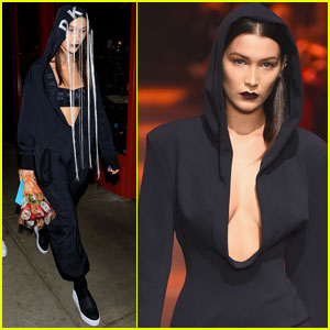 Bella Hadid Opens the DKNY Show During NYFW