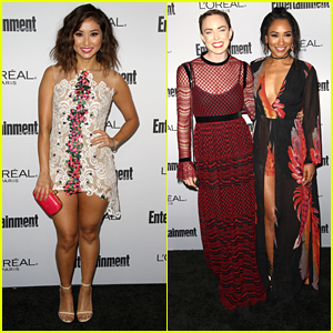 Brenda Song Joins Caity Lotz & Candice Patton at EW's Pre-Emmy Celebration