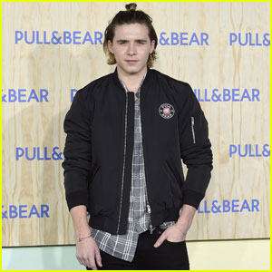 Brooklyn Beckham Totally Pulls Off the Man Bun