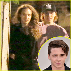 Brooklyn Beckham & Adrienne Juliger Leave Elton John Concert Together