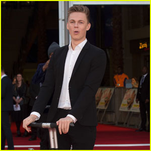 Caspar Lee Premieres His New Movie 'Laid in America' in London