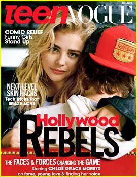 Chloe Moretz Covers 'Teen Vogue' with Ex-Boyfriend Brooklyn Beckham