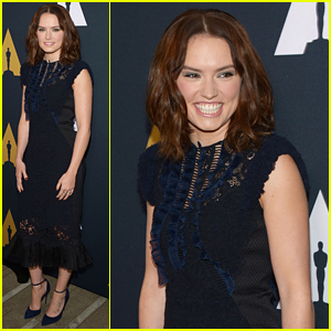 Daisy Ridley Steps Out For Student Academy Awards 2016 in Beverly Hills