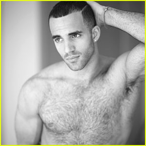 Gymnast Danell Levya Goes Shirtless For New Photo Shoot!