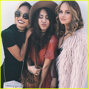 Debby Ryan & Ashley Argota Share First Pics of New Flick Together