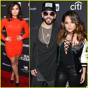 Demi Lovato & Becky G Kick Off Global Citizen Festival 2016 in NYC