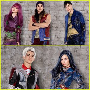 Ben Goes To the Dark Side In New 'Descendants 2' Cast Pic!