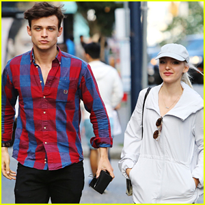 'Descendants 2' Stars Dove Cameron & Thomas Doherty Walk To Yoga Class Together in Vancouver