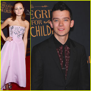 Ella Purnell & Asa Butterfield Premiere 'Miss Peregrine's Home For Peculiar Children' in NYC