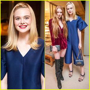 Elle Fanning & Larsen Thompson Step Out in Style for ASOS' Holiday Preview Dinner
