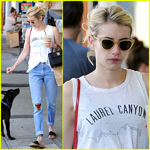 Emma Roberts Calls 'Scream Queens' Co-Star Lea Michele Her 'Work Wife'!