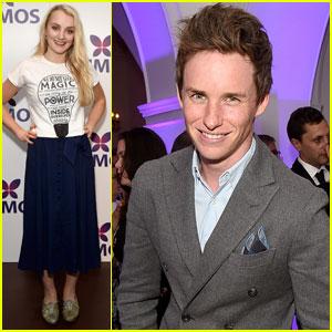 Evanna Lynch & Eddie Redmayne Support J.K. Rowling's Charity