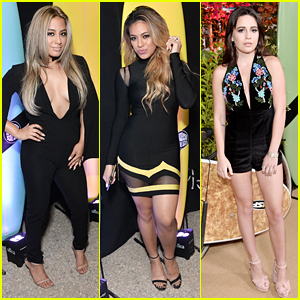 7a8336891db Fifth Harmony s Ally Brooke   Dinah Hansen Step Out For Teen Vogue s Young  Hollywood Party