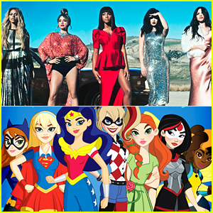 Fifth Harmony Teams Up With DC's Super Hero Girls For New 'That's My Girl' Vid - Watch!