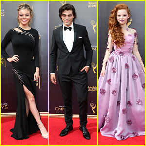 G Hannelius Stuns On Creative Arts Emmys Red Carpet - See Her Glam Look Now!