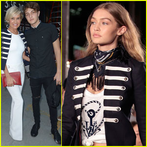 Gigi Hadid Gets Support From Her Whole Fam at the 'TommyxGigi' Show