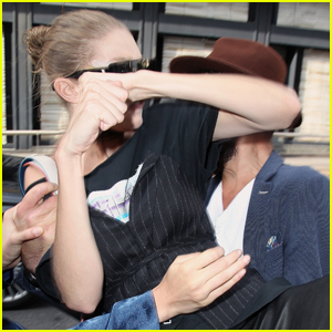 Gigi Hadid Reveals How She Knew What To Do During Prankster Attack in Milan