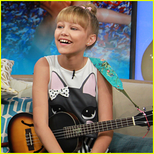Grace VanderWaal Wears Cute Cat Outfit For 'Access Hollywood Live' Interview