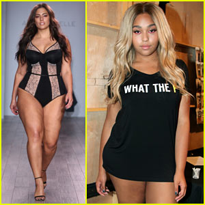 Jordyn Woods Joins Ashley Graham for NYFW Show!
