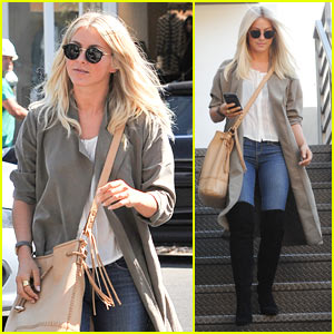 Julianne Hough Enjoys a Day Off in Beverly Hills
