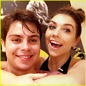 Jake T. Austin & Jenna Johnson Announce DWTS Team Name!