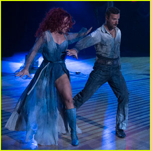 James Hinchcliffe & Sharna Burgess Paso Doble to 'The Walking Dead' - 'DWTS' Pics!