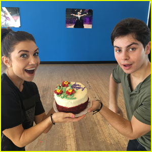 Jenna Johnson Makes a Deal With Jake T. Austin - Read Her 'DWTS' Week Two Blog!