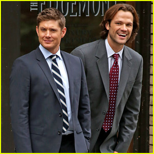 Jared Padalecki Films 'Supernatural' Season 12 Scenes with Jensen Ackles!