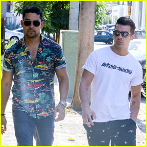 Demi Lovato's Exes Joe Jonas & Wilmer Valderrama Grab a Friendly Lunch