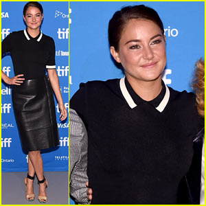Shailene Woodley Speaks On Stage at 'Snowden' Press Conference!