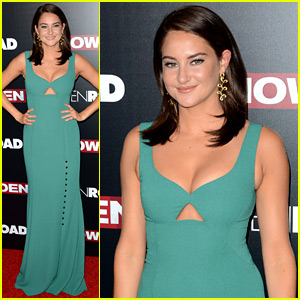 Shailene Woodley Stuns in Prabal Gurung at 'Snowden' NYC Premiere!