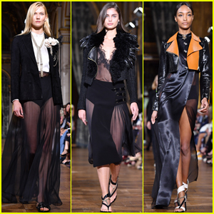 Karlie Kloss, Taylor Hill & Jourdan Dunn Rock 'Lanvin' Runway
