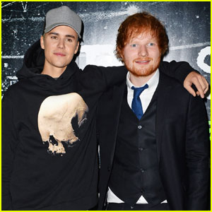 Justin Bieber on Working With Ed Sheeran: 'He's an Inspiration'