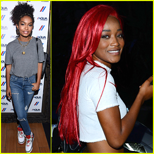 Keke Palmer Debuts Fire Red Hair at Drake Concert in LA