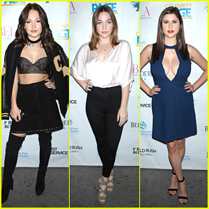 Kelli Berglund Joins Amber Coney & Violett Beane at 'Bella New York' Cover Party