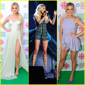 Kelsea Ballerini Celebrates Turning 23 at CCMA Awards in Canada!